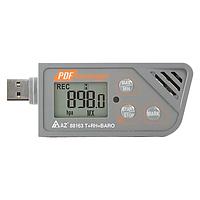 Реєстратор температури, вологості і тиску AZ-88163, фото 1
