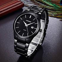 Часы Мужские Curren 8106 All Black, фото 2