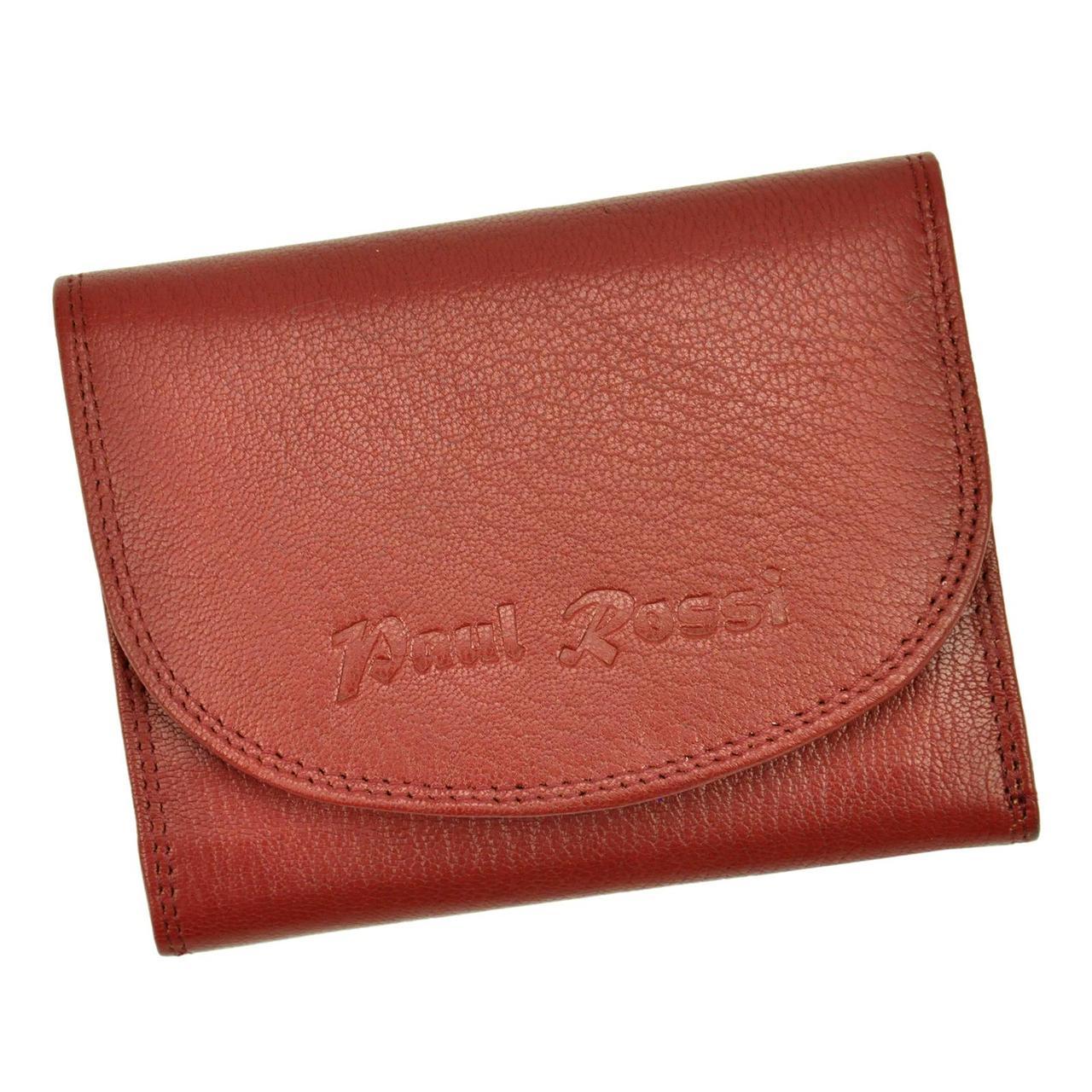 Женский кожаный кошелек Paul Rossi PN-1402-SP Красный