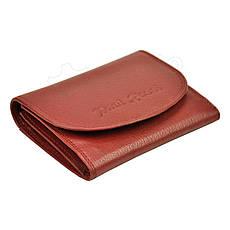 Женский кожаный кошелек Paul Rossi PN-1402-SP Красный, фото 3