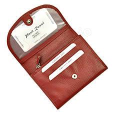 Женский кожаный кошелек Paul Rossi PN-1402-SP Красный, фото 2