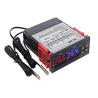 Терморегулятор - термостат цифровой, STC-3008, 12V