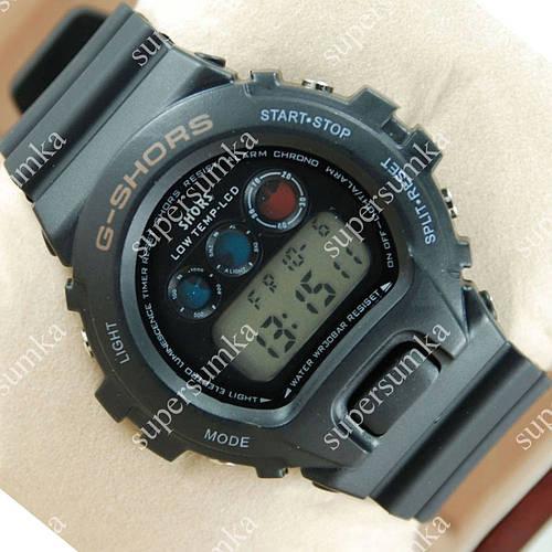 Практичные наручные спортивные часы Casio Shors 700-SHS06 Black 712