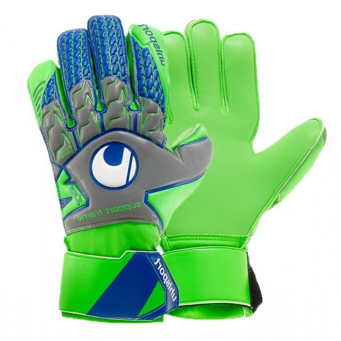 Вратарские перчатки Uhlsport Tensiongreen Soft, Оригинал. Раз. 8.5,.