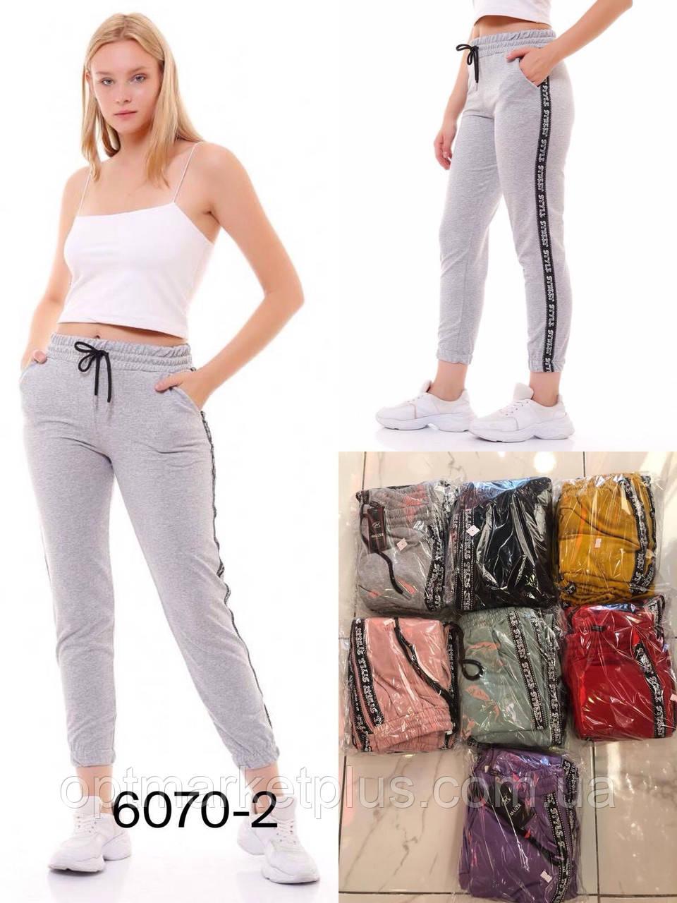 Спортивные женские штаны (S-XL) Турция купить оптом от склада 7 км Одесса