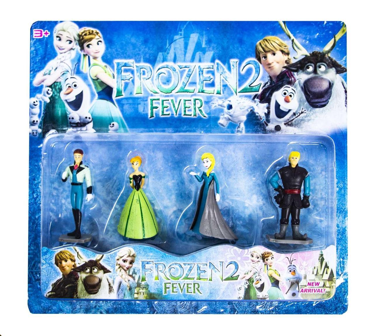 Фигурки Frozen 4 героя оптом