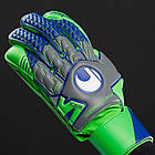 Вратарские перчатки Uhlsport Tensiongreen Soft, Оригинал. Раз. 8.5,., фото 9