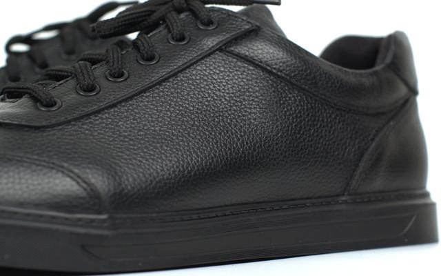 Кроссовки мужские кожаные демисезонные обувь больших размеров Rosso Avangard Ada Black Leather TPR BS