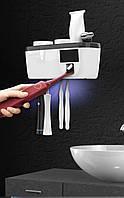 Ультрафиолетовый стерилизатор зубных щеток с двумя щётками в комплекте