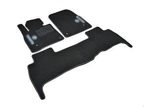 Килимки в салон ворсові для Toyota Land Cruiser 200 (2007-2012) 5 місць /Чорні, кт. 3шт BLCCR1634