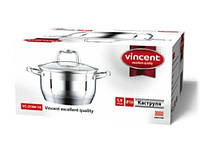 Кастрюля Vincent VC-3166-16 d = 16 1,9л