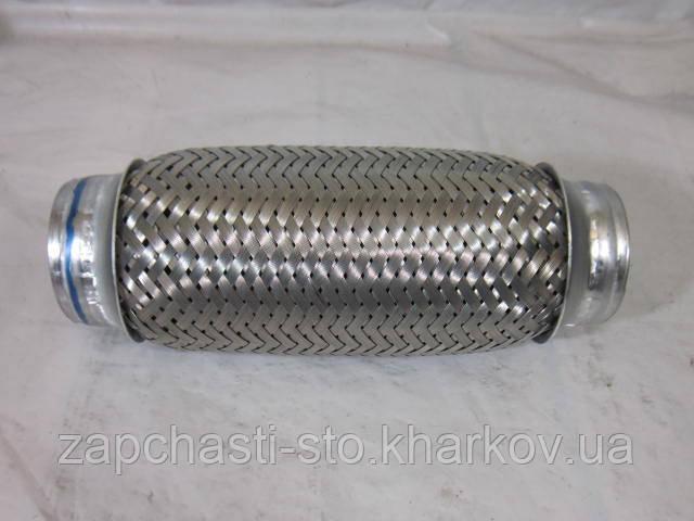 Гофра металлическая выпускной системы Ланос 3-х слойная 50Х200