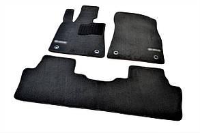Килимки в салон для Lexus RX (2015-) /Чорні ворс Premium