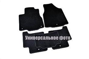 Килимки в салон для Toyota Land Cruiser 200 (2013-) 5мест / Чорні ворс, Premium BLLX163639