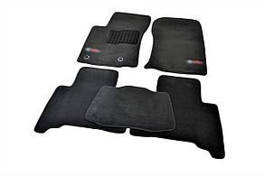 Килимки в салон для Toyota Prado 150 (2013-) 7 місць /Чорні ворс, Premium BLCLX163839