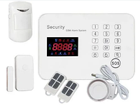 Сигнализация GSM G3 RU отличная охрана для вашего дома офиса дачи магазина с датчиком движения.