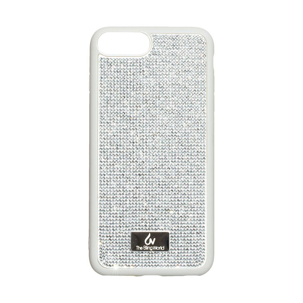 Чехол Bling World TPU+LCPC for Apple Iphone 7/8 Plus Цвет Стальной
