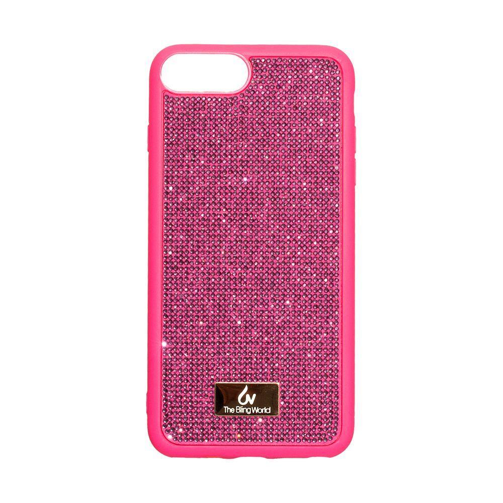 Чехол Bling World TPU+LCPC for Apple Iphone 7/8 Plus Цвет Розовый