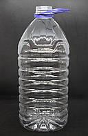 ПЭТ Бутылка прозрачная 5 л. Ø 48 мм.
