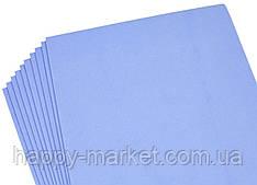 ФОАМИРАН № 8966 2мм / 10 листов 20*30cm голубой