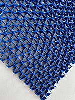 Резиновая грязезащитная дорожка синяя Крокус big 8 мм, фото 1