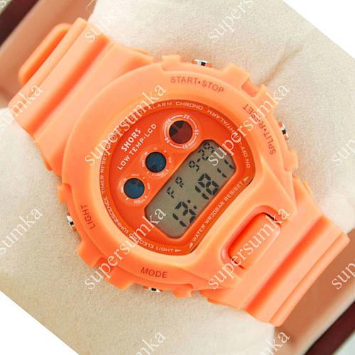 Модные наручные спортивные часы Casio Shors 700-SHS06 Orange 715