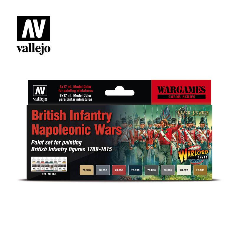 Британская пехота наполеоновские войны. VALLEJO 70163