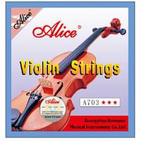 Струни для скрипки Alice A703