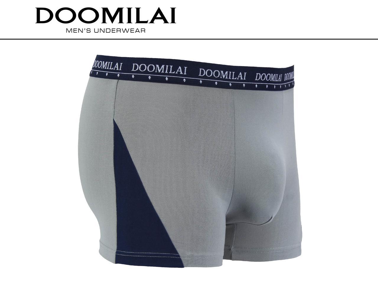Чоловічі боксери стрейчеві з бамбука «DOOMILAI» Арт.D-01438