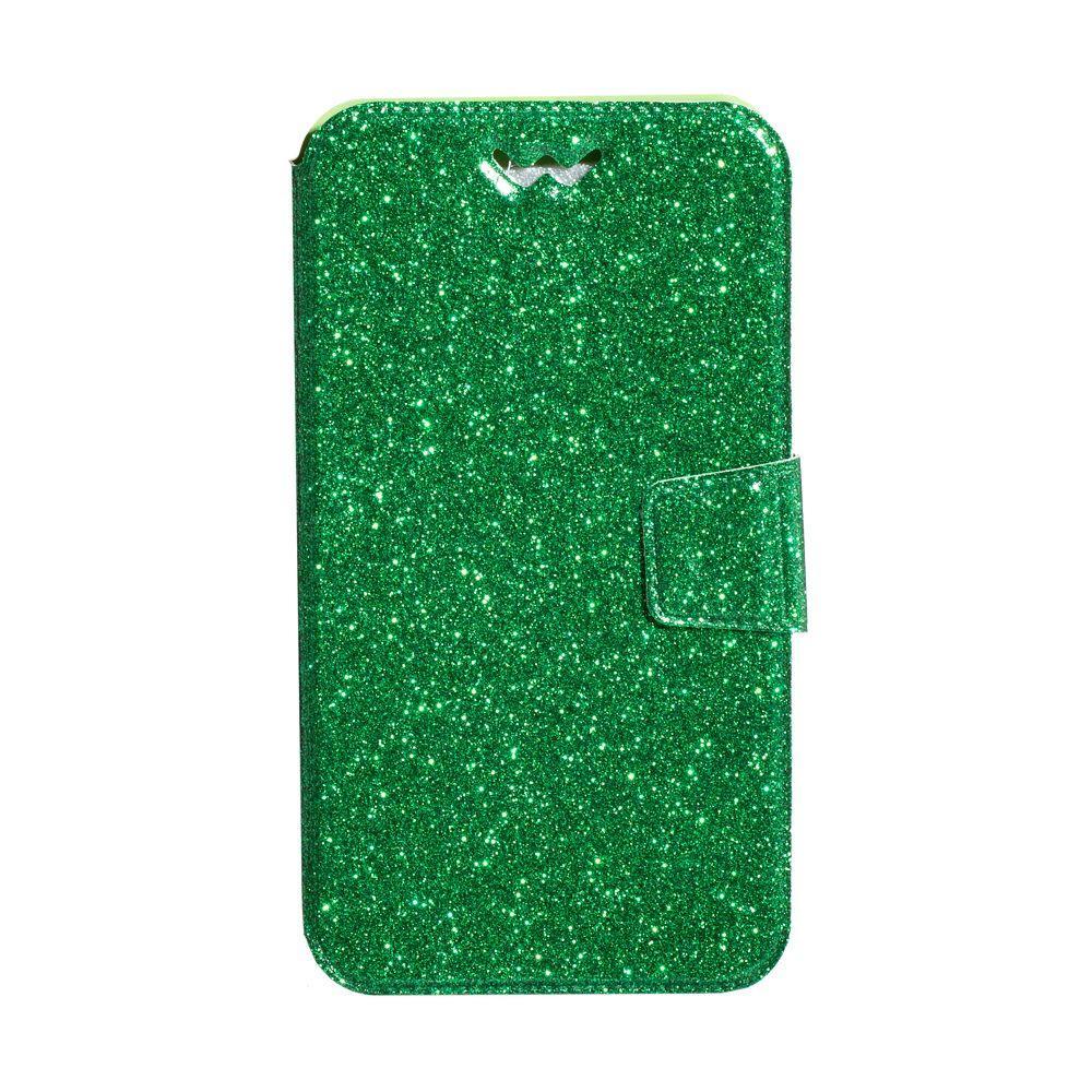 """Чохол-книжка Shining 5"""" Колір Зелений"""