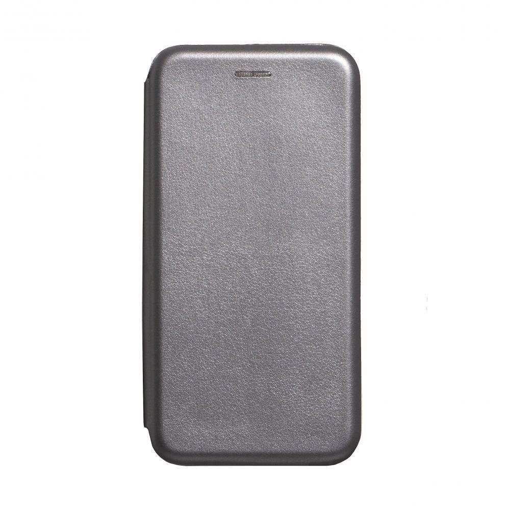 Чехол-книжка кожа для Realme X2 Pro Цвет Серый