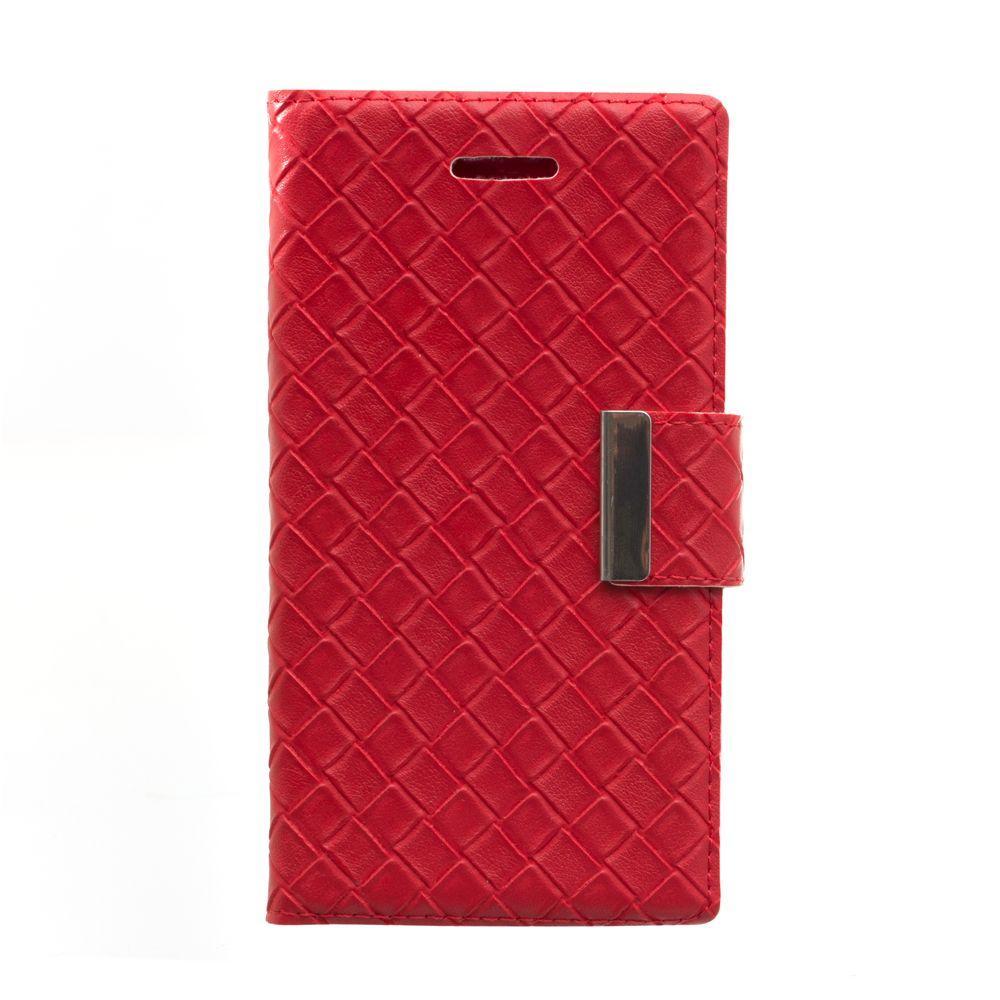"""Чехол-книжка Bottega Veneta Design 5.5"""" Цвет Красный"""