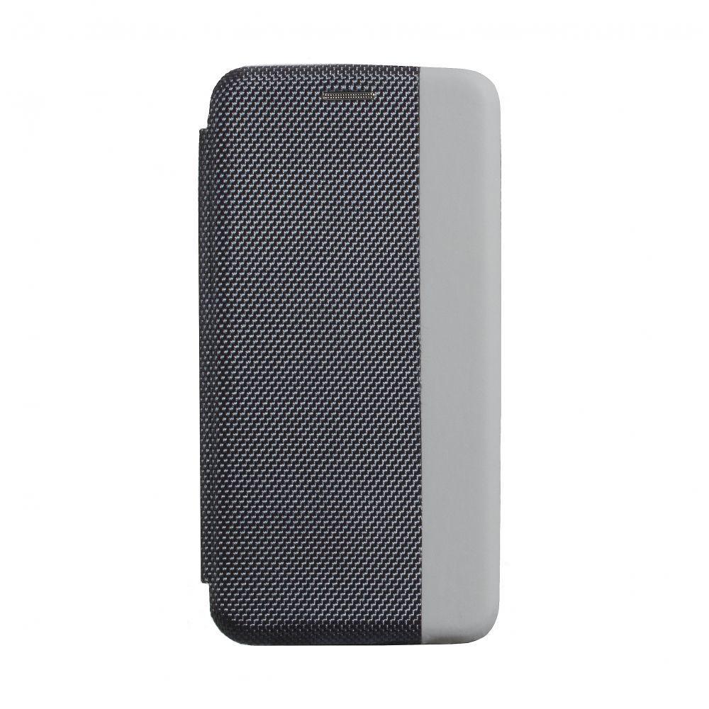 Чехол-книжка Strip color для Samsung A41 Цвет Серый