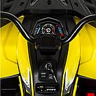 Детский одноместный электромобиль квадроцикл Bambi M 4081EBLR-2-6 с пультом управления / цвет черно-желтый **, фото 5