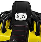 Детский одноместный электромобиль квадроцикл Bambi M 4081EBLR-2-6 с пультом управления / цвет черно-желтый **, фото 7