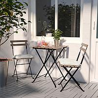 Стіл + 2 крісла для саду, стол стулья для сада, IKEA, Tarno, тарно, садові меблі,