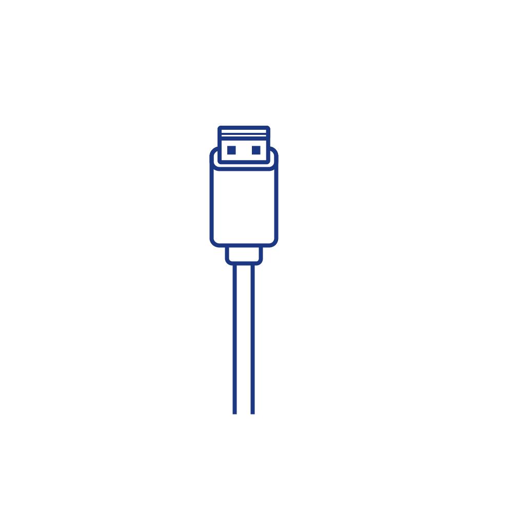 USB XO NB36 Micro Цвет Белый