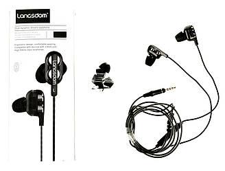 Навушники Langsdom D4C чорні, Навушники Langsdom D4C чорні