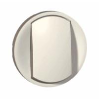 Лицьова панель - Програма Celiane - вимикач 1-полюсний / перемикач білий