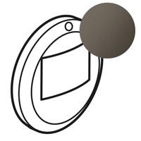 Лицьова панель - Програма Celiane - для Кат. № 0 672 25 і 0 670 25/26/99 - графіт