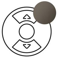 Лицевая панель - Программа Celiane - для Кат. № 0 676 01/02/04 - графит