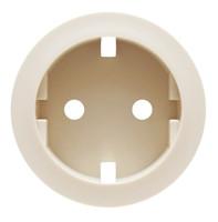 Лицьова панель - Програма Celiane - розетка 2К+З німецького стандарту Кат. № 0 671 53/61 - слонова кістка