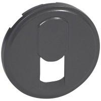 Лицевая панель - Программа Celiane - телефонные розетки Кат. № 0 673 40/41 - графит
