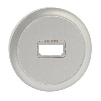 Лицевая панель - Программа Celiane - розетка аудио/видео HDMI Кат. № 0 673 17/77 - титан