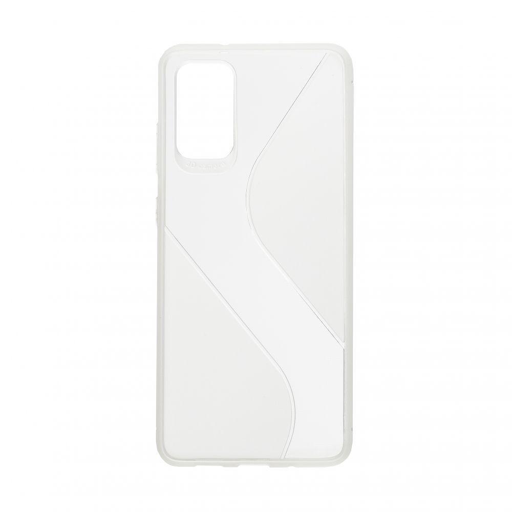Чехол Totu Clear Wave для Samsung S20 Plus Цвет Белый