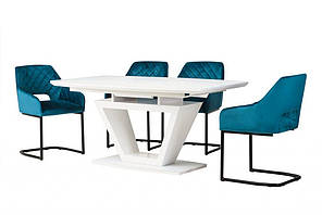 Стол обеденный раскладной TMМ-53-2 Vetro Mebel™