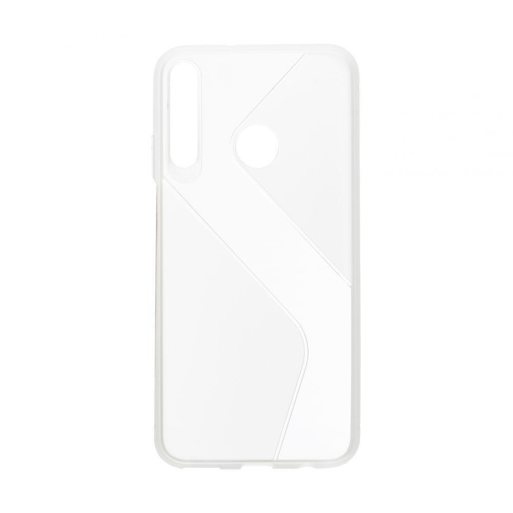Чехол Totu Clear Wave для Huawei P40 Lite E Цвет Белый