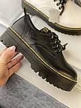 Туфли из натуральной кожи черного цвета, фото 9