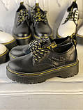Туфли из натуральной кожи черного цвета, фото 10