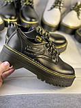 Туфли из натуральной кожи черного цвета, фото 5
